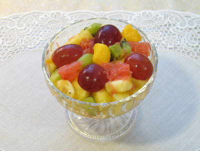 рецепты фруктового салата на английском
