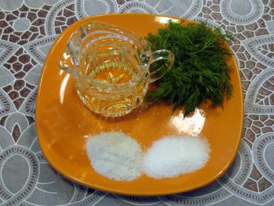 Салат из кальмаров — фото продуктов для маринада