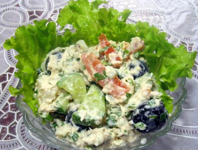 Салаты из цветной капусты рецепты с майонезом