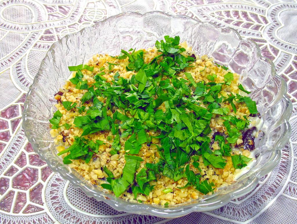 Салаты с черносливом рецепты простые
