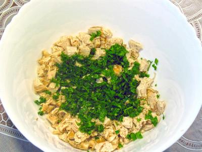 Салат генеральский рецепт с грибами