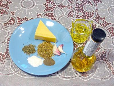 Салат с тунцом и макаронами — фото продуктов для соуса
