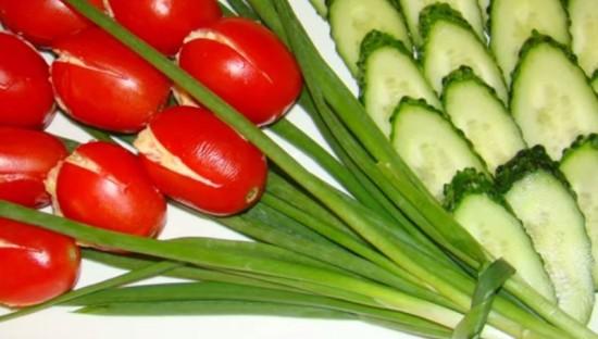 салат Тюльпан