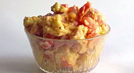 салат с цветной капустой фото рецепты с фото