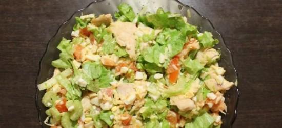 рецепты салатов с сыром блюдо