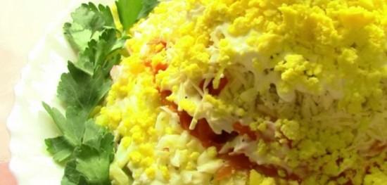 салат каприз рецепт с видео