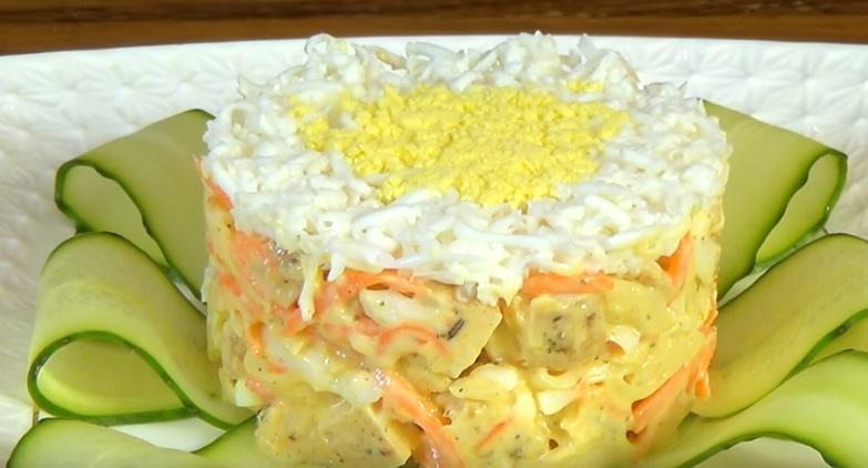 Рецепты интересных салатов с пошаговым фото