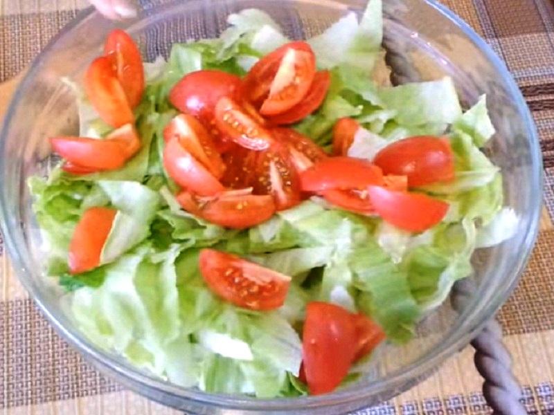 Простые зимние салаты