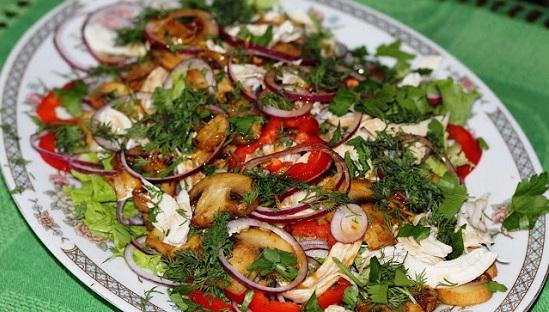 салат курочкой рецепты с фото