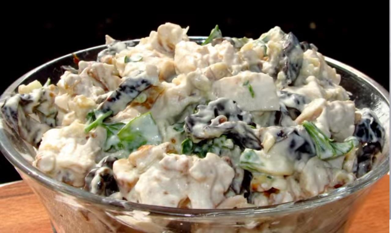 Салаты с курицей т грибами рецепты с