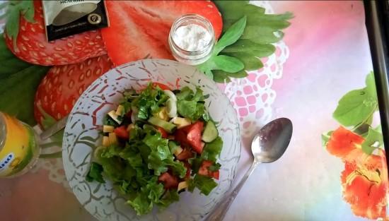 Диетический майонез для салатов