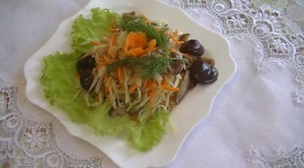 салат с куриными сердечками и грибами продажи долларов США