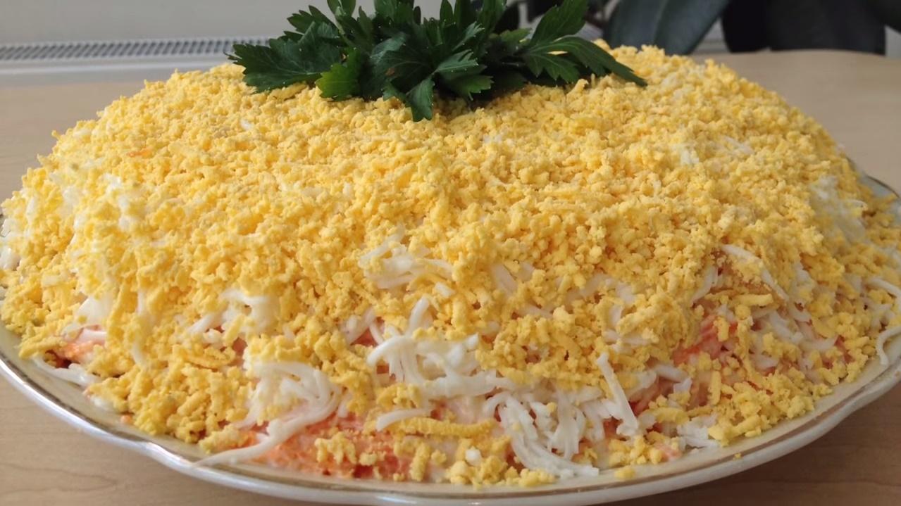 Фото салата мимоза слои по порядку
