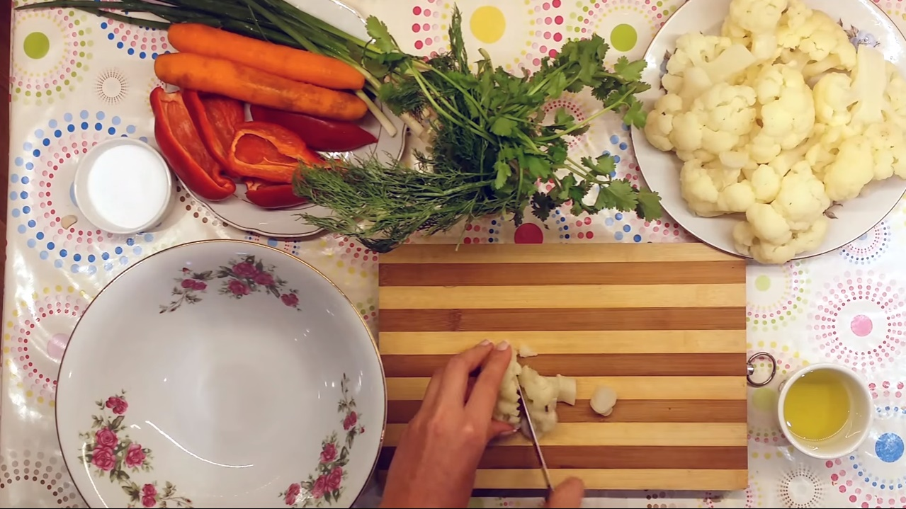 рецепты овощных салатов на праздник